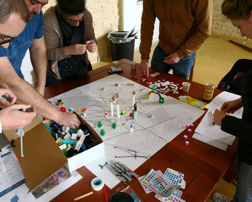 Atelier d'agencement de l'espace et création de dispositifs innovants